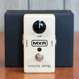 Used MXR Micro Amp w/ Box