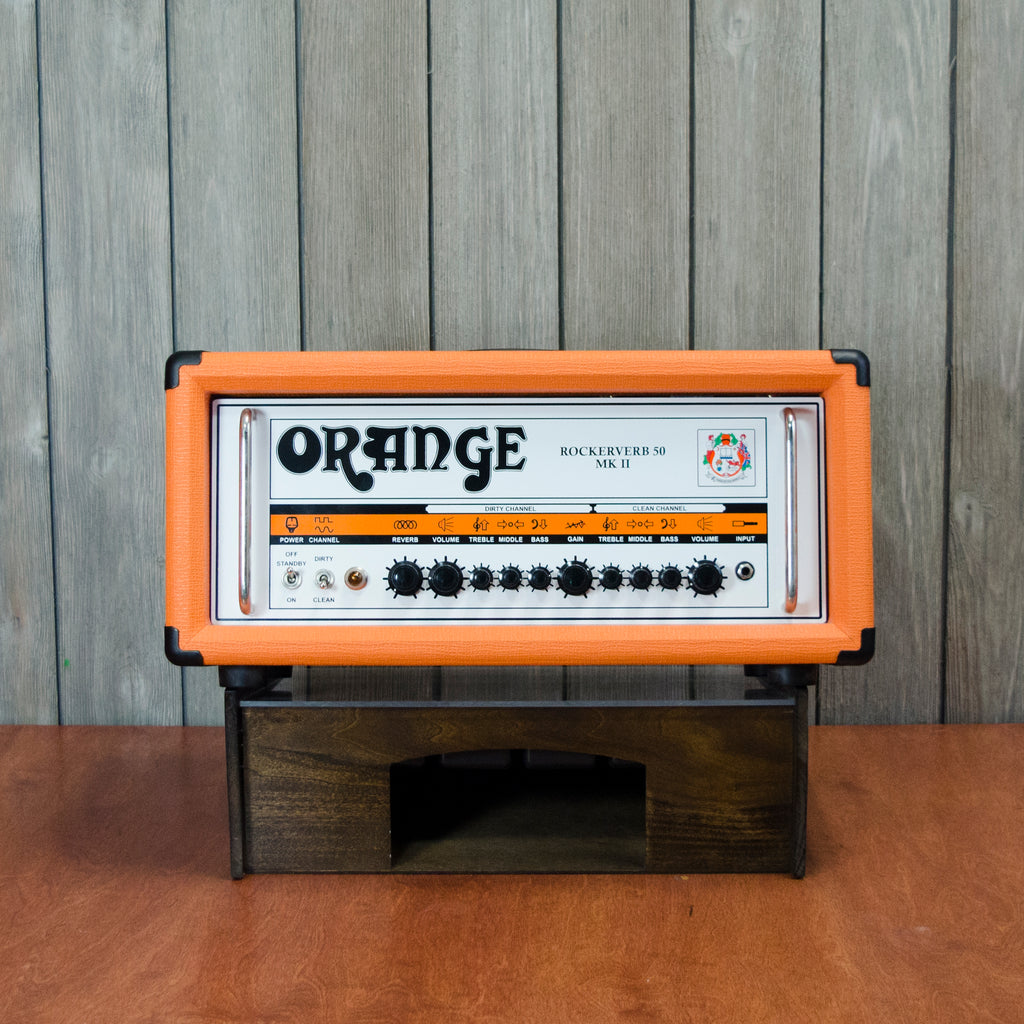 Orange Rockerverb 50 Mk. II Head (Used - Recent)