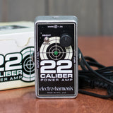 Used EHX 22 Cal. Power Amp w/ Power Supply & Box
