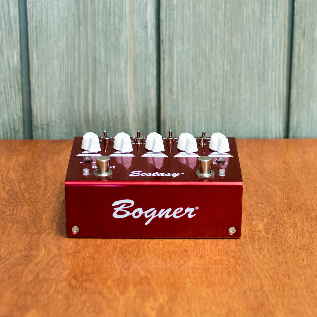 Used Bogner Ecstasy Red w/ Box