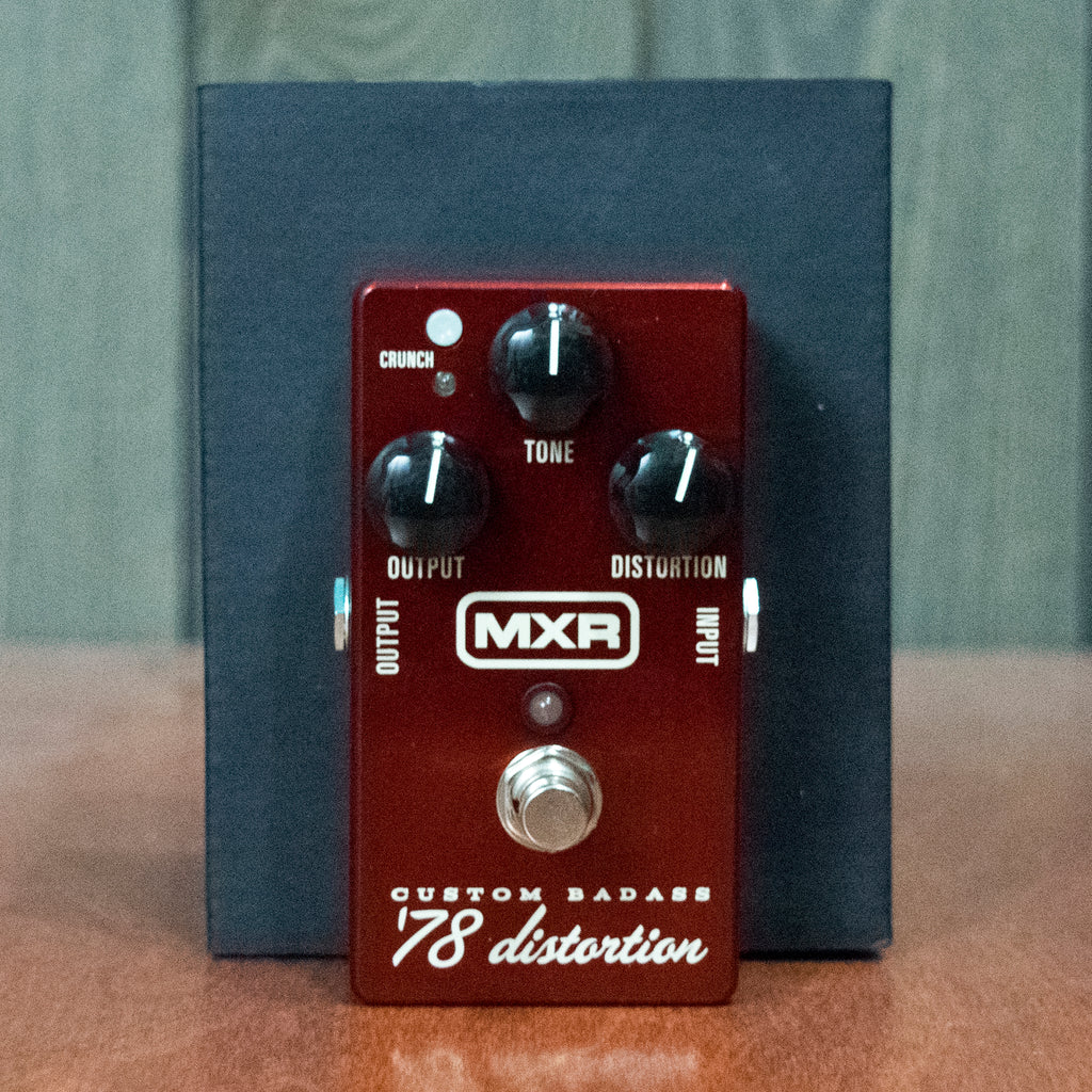 Used MXR '78 Badass Distortion w/ Box