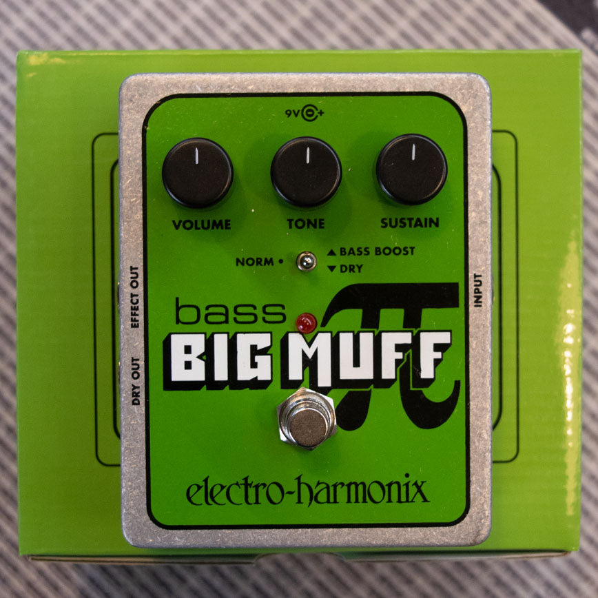 Electro-Harmonix Bass Big Muff Pi Distortion