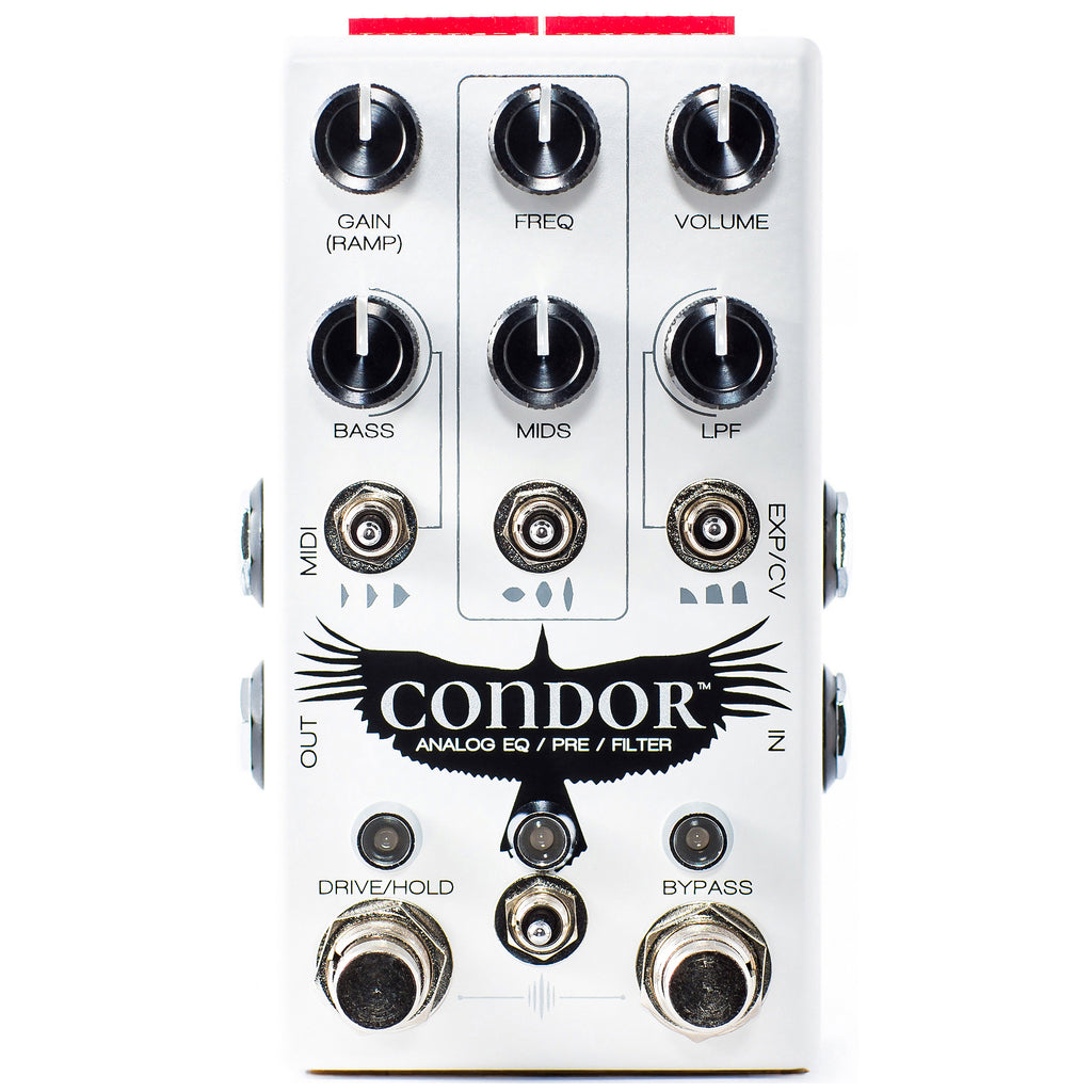 CHASE BLISS CONDOR ANALOG eq/ pre/ filter
