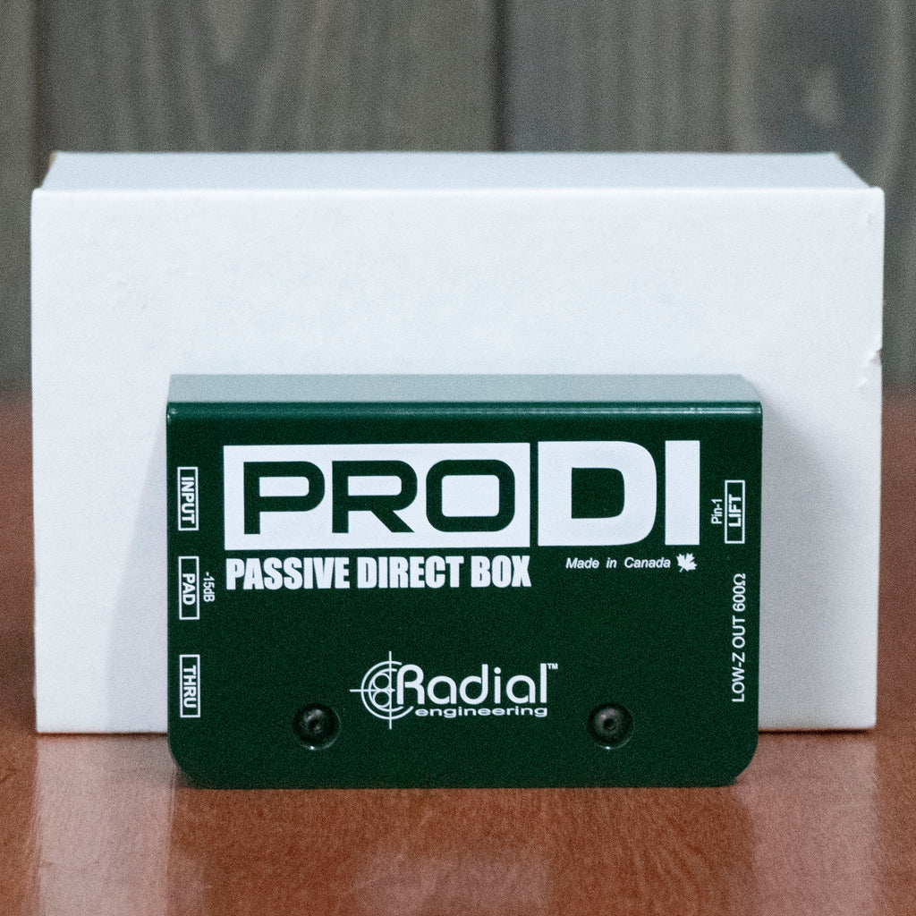 Used Radial Pro DI Passive Direct Box w/ Box