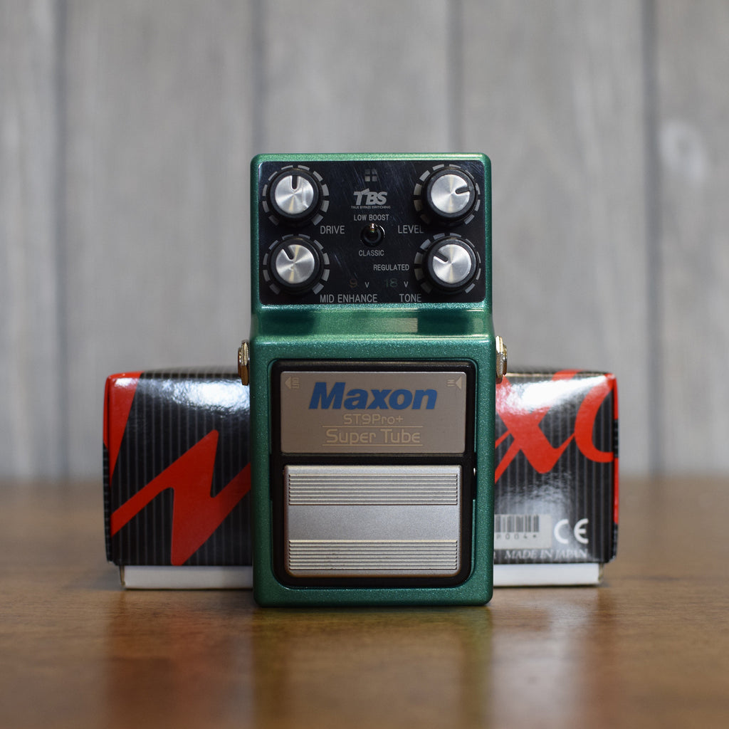 Used Maxon Super Tube ST9Pro+ w/ Box