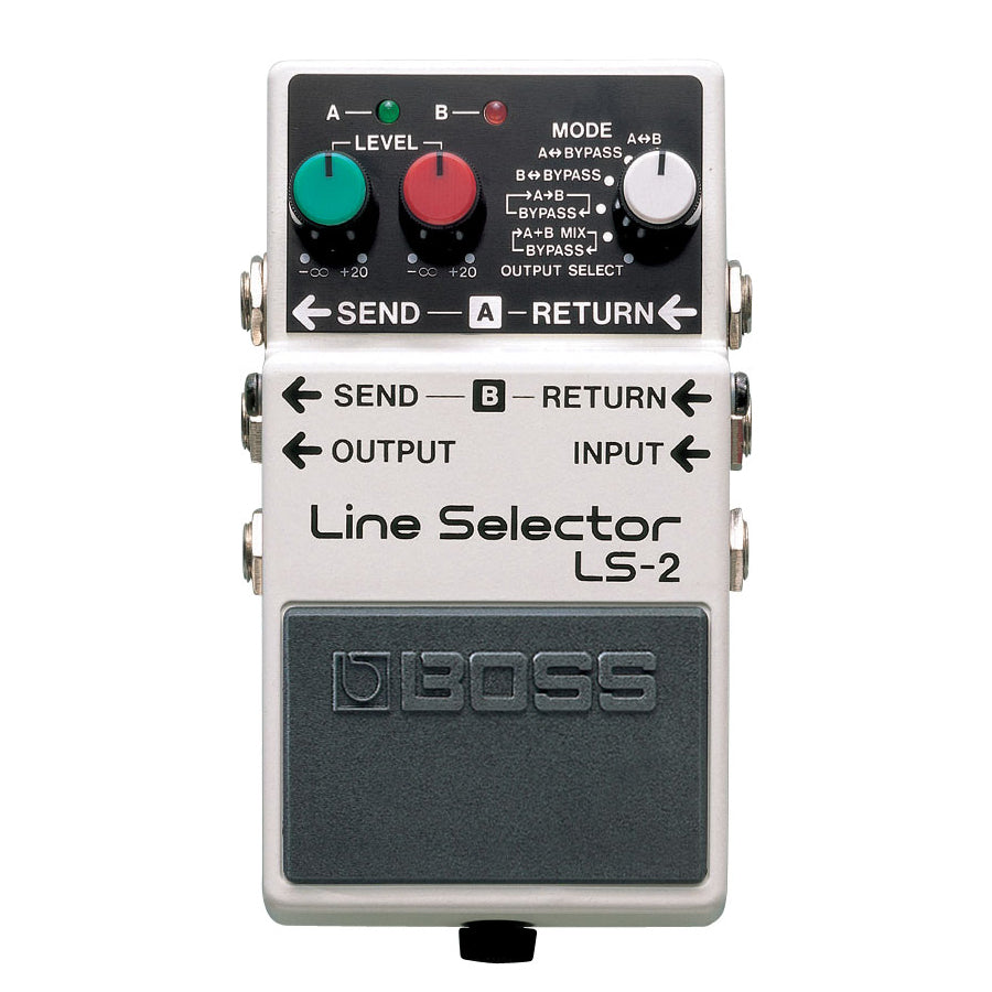 Boss LS-2 Line Selector/ Power Supply
