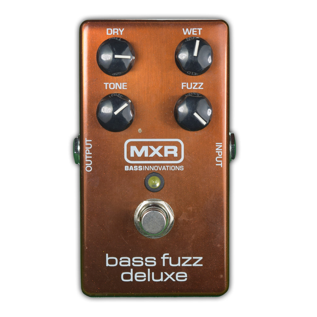 Used MXR Bass Fuzz Deluxe