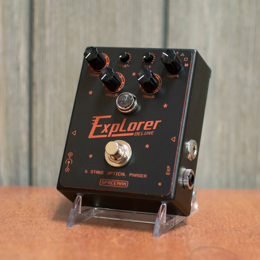Spaceman Effects Explorer Deluxe Phaser Custom Red and Black Edition