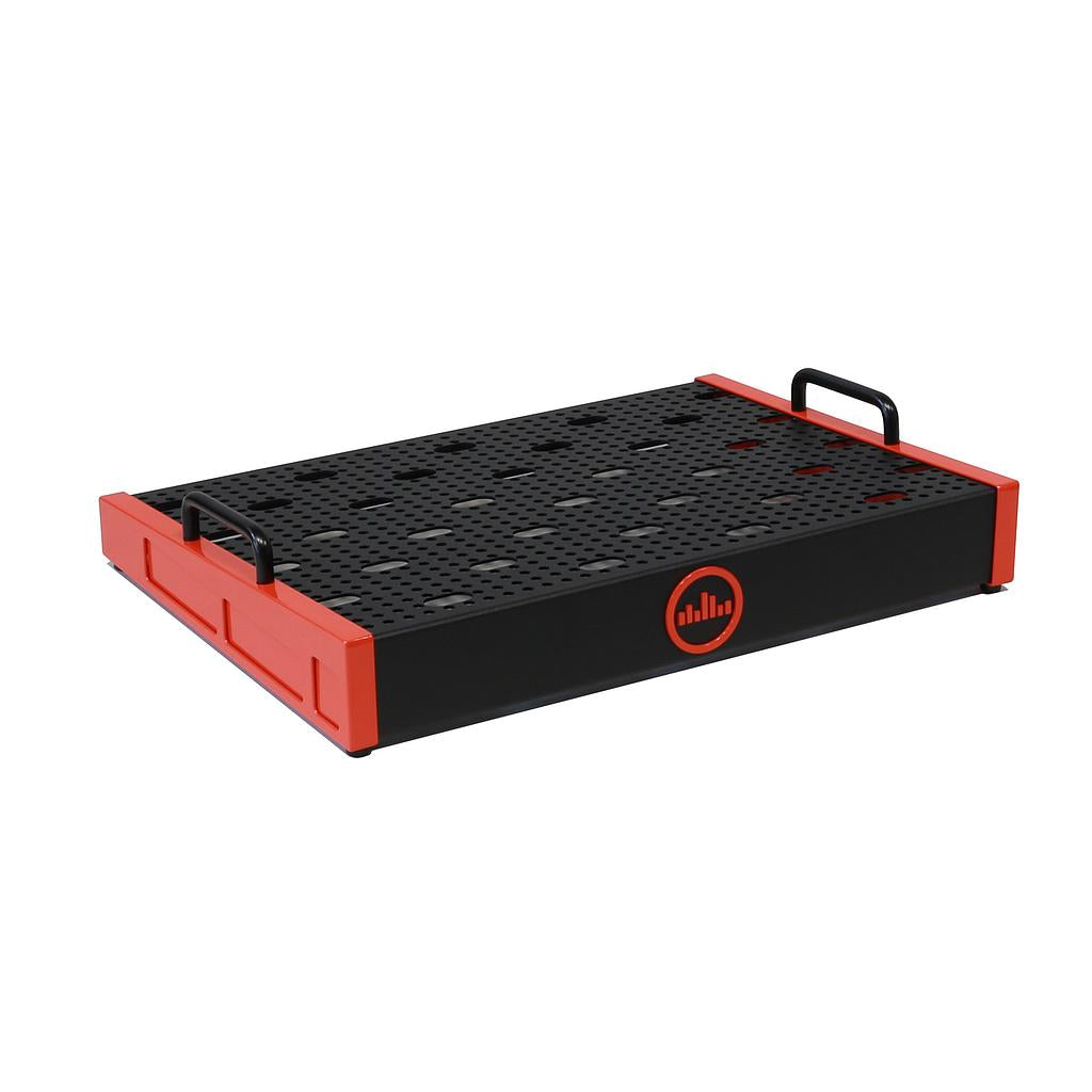 Temple Audio Duo 17 Pedalboard - Temple Red
