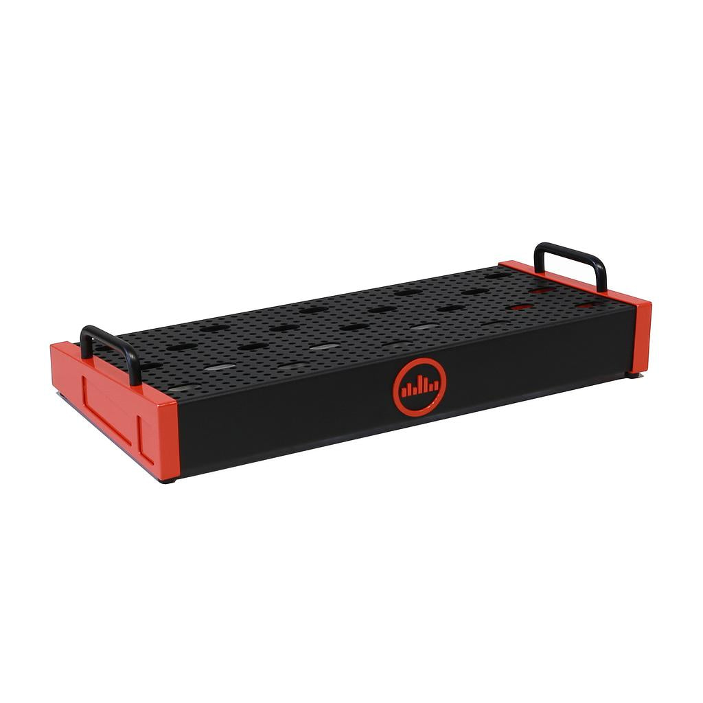 TEMPLE AUDIO SOLO 18 PEDALBOARD - TEMPLE RED