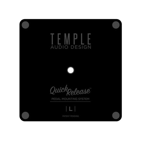 Temple Audio TQR-S Small Pedal Plate w/ Screw
