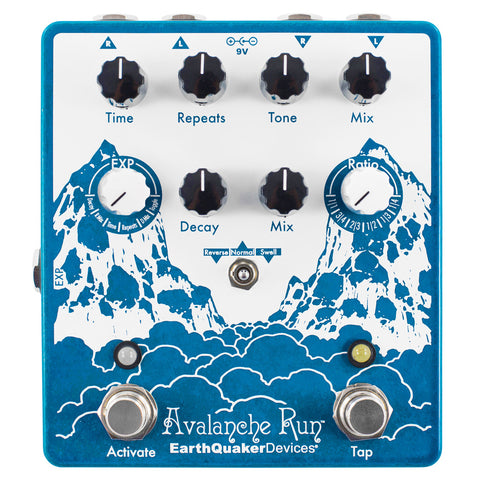 EARTHQUAKER DEVICES SPACE SPIRAL V2 DELAY