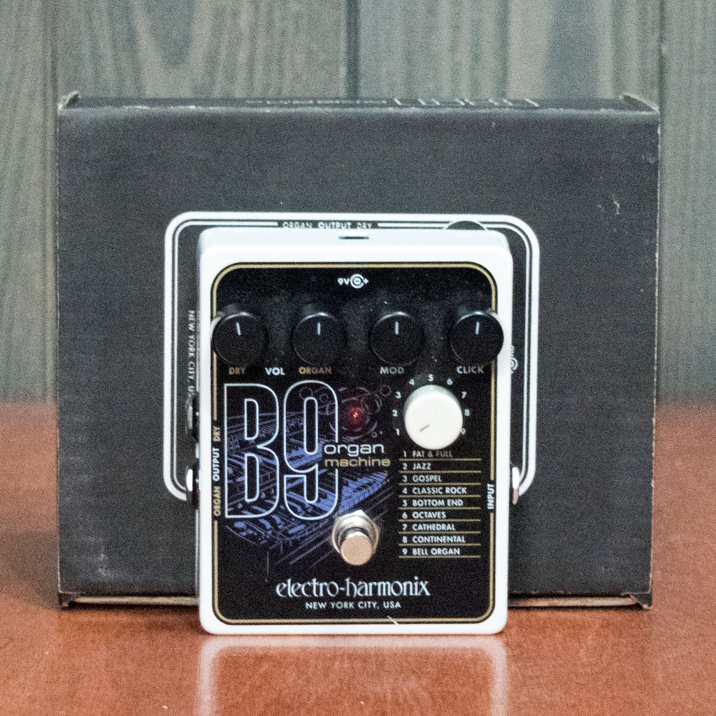Used EHX B9 Organ Machine w/ Box and Power Supply