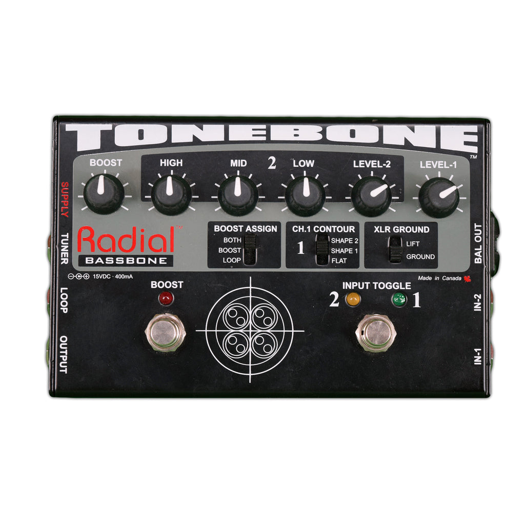 Used Radial Bassbone w/ Box and Power Supply