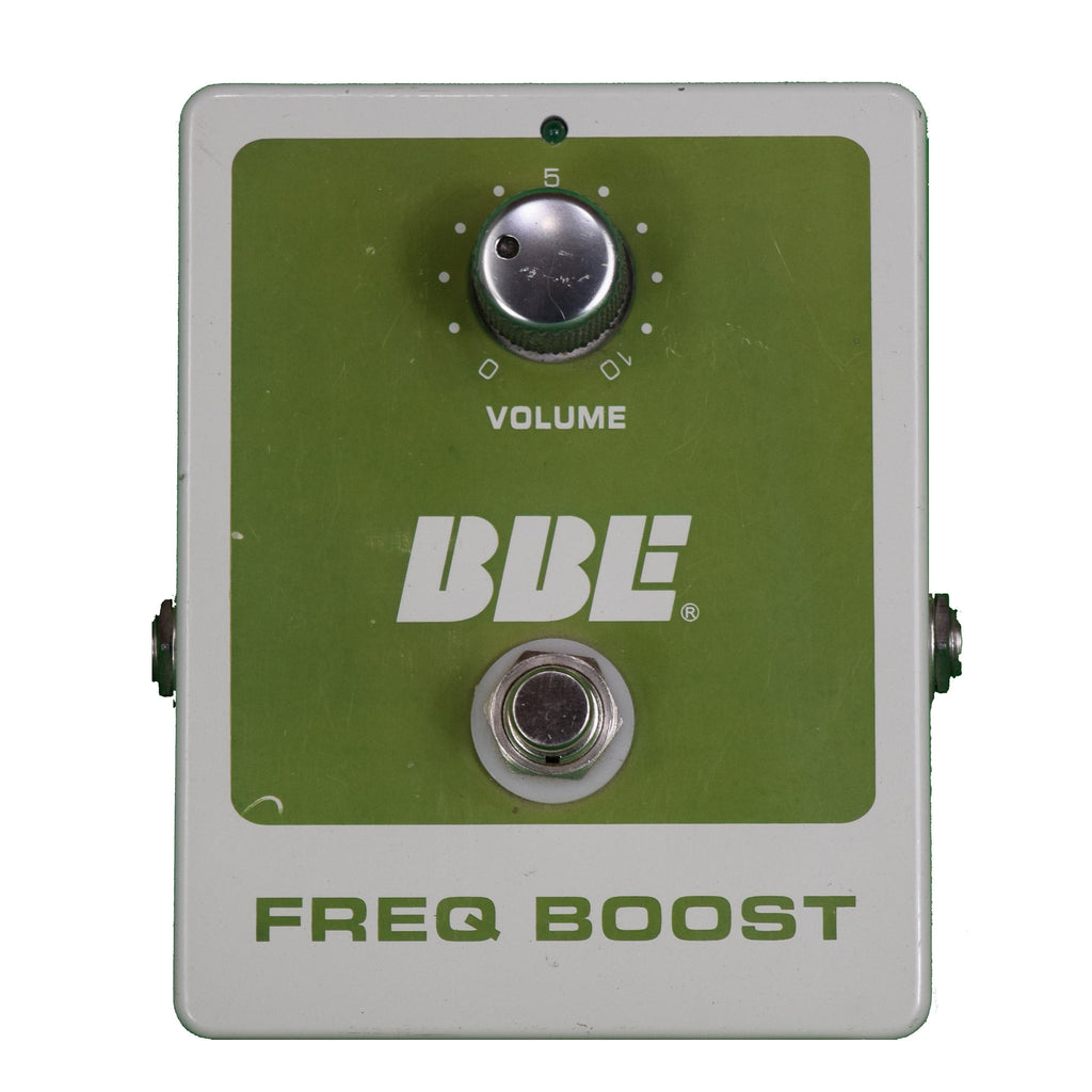 Used BBE Freq Boost Treble Booster