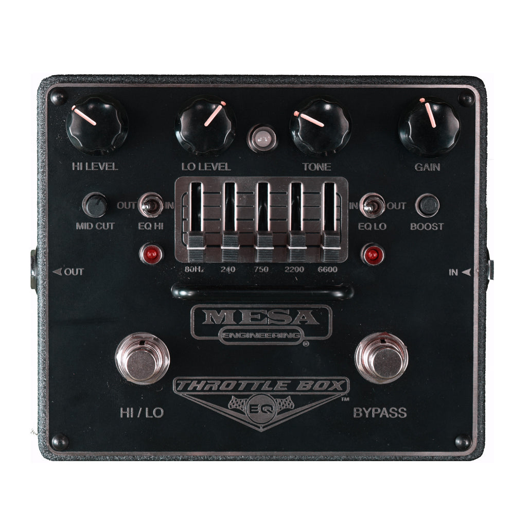 Used Mesa Boogie Throttle Box Overdrive & EQ w/Box