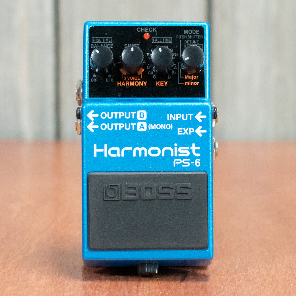 Used Boss PS-6 Harmonist