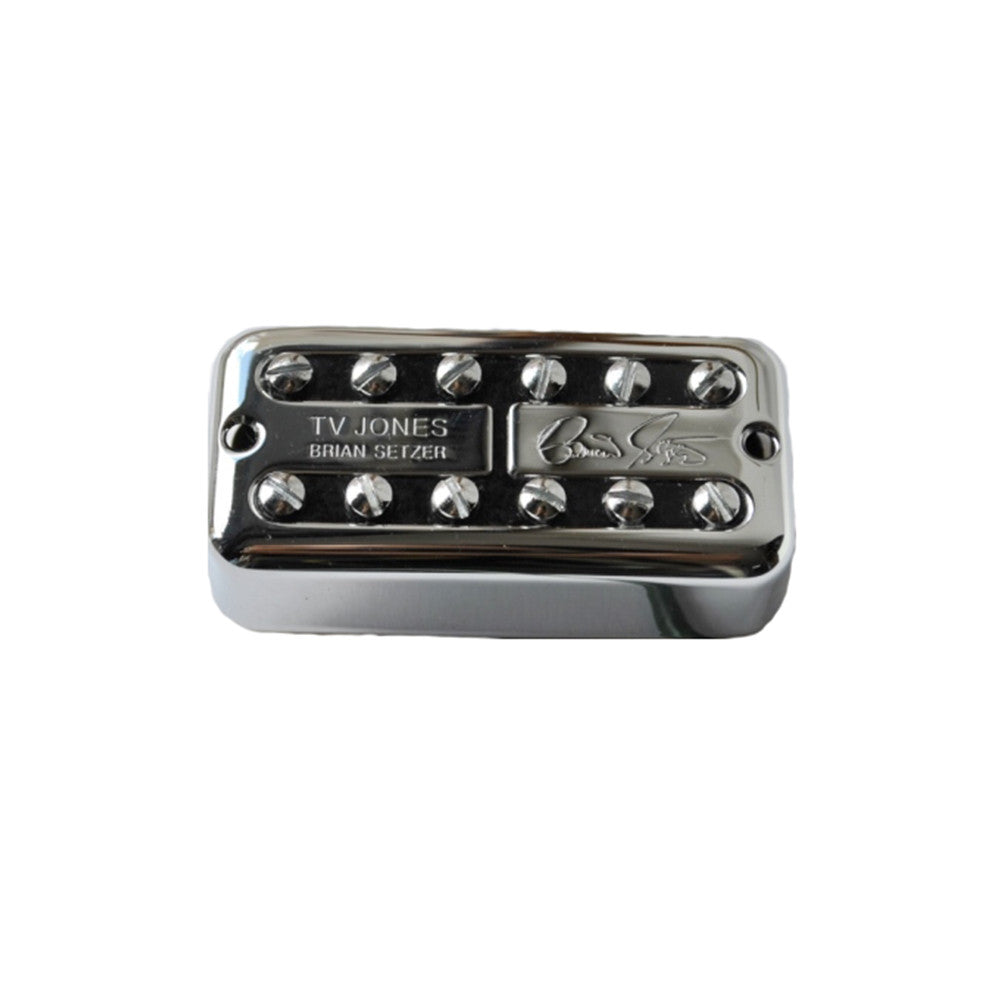 TV Jones Brian Setzer Signature Bridge Pickup - Chrome, Universal Mount