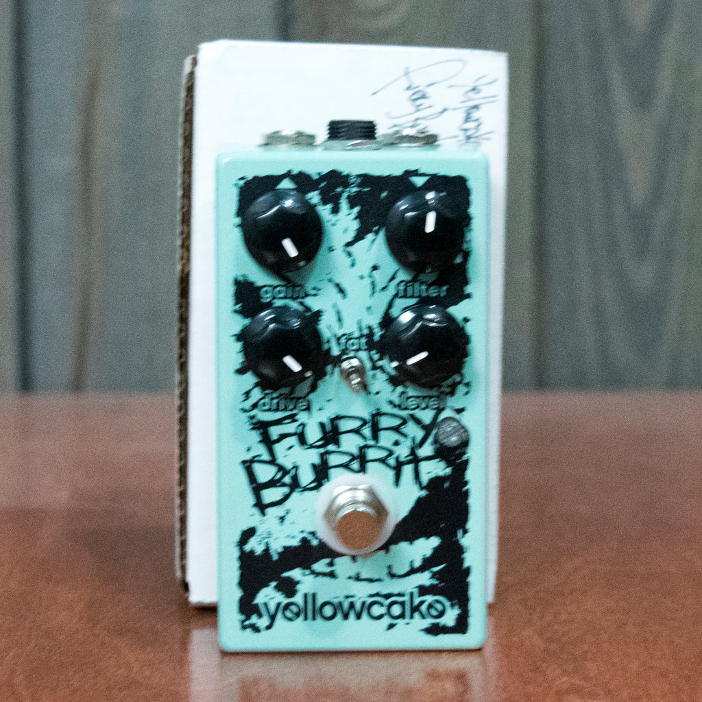 Used Yellowcake Furry Burrito Fuzz w/ Box