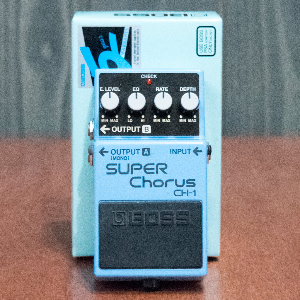 Used Boss CH-1 Chorus w/ Box