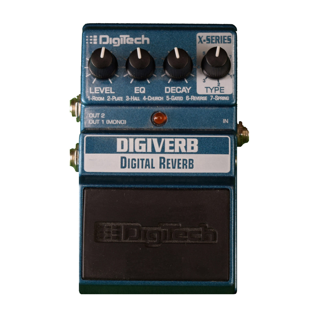 Used Digitech Digiverb w/Box