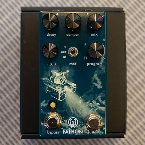 Used Mooer Trelicopter Tremolo