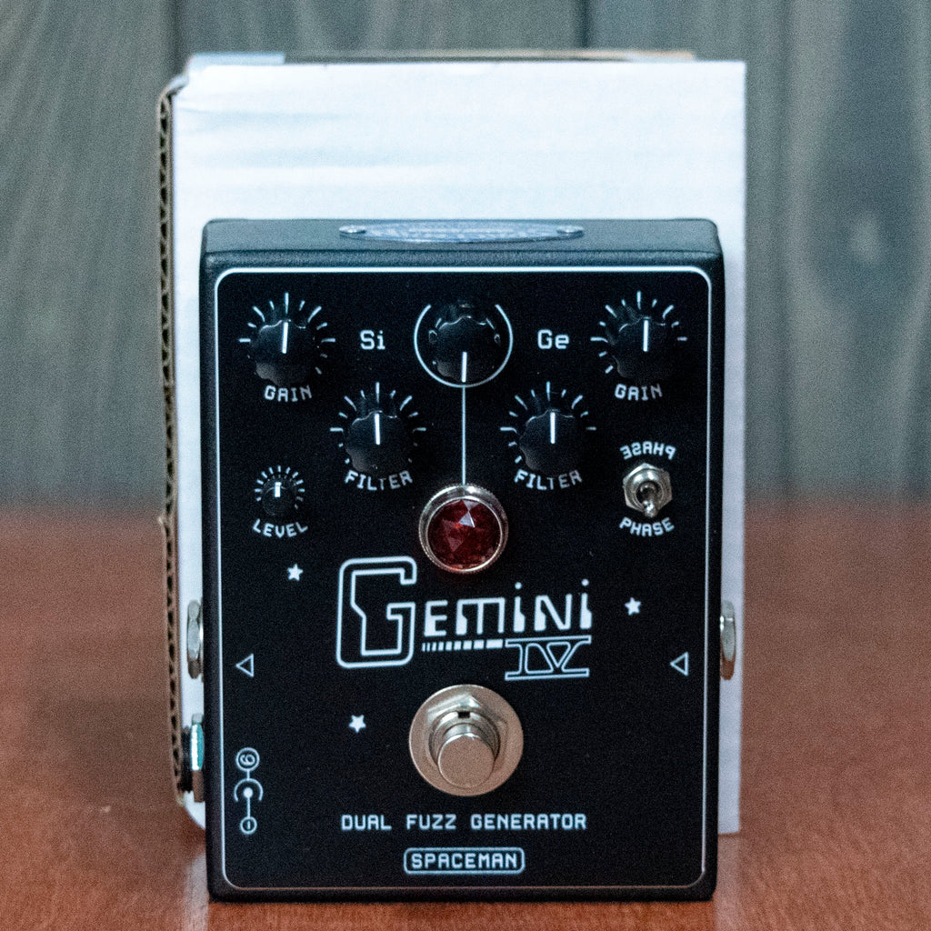 Spaceman Gemini IV Dual Fuzz Black Edition - New