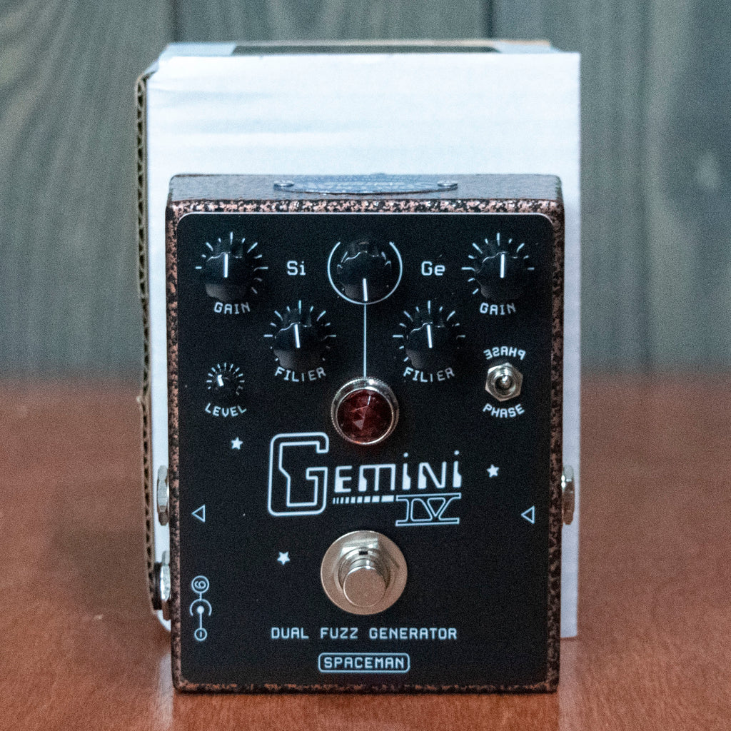 Spaceman Gemini IV Dual Fuzz Vintage Copper Edition - New