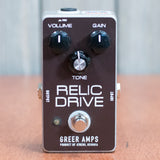 Used Greer Amps Relic Drive