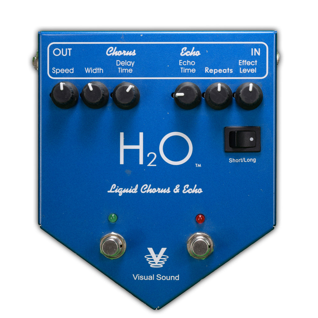 Used Visual Sound H20 Liquid Chorus V1