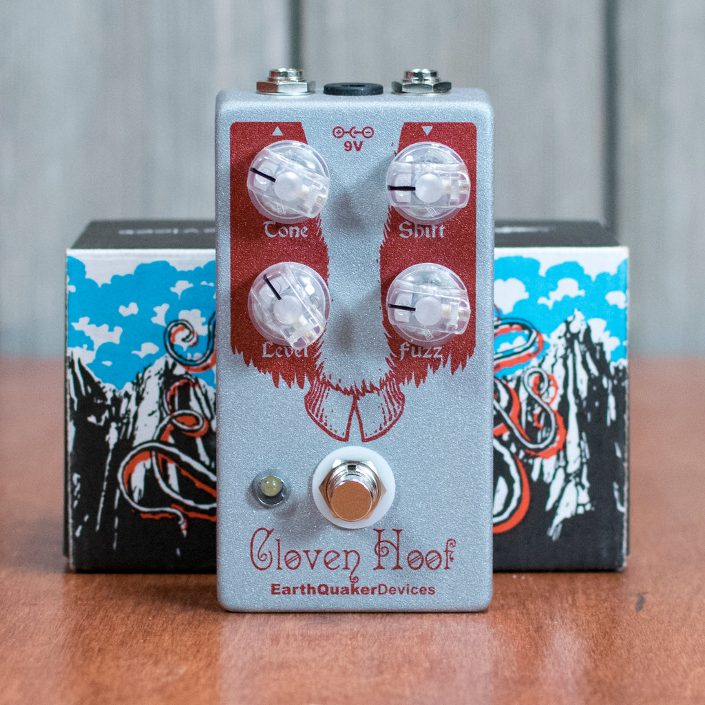 Used Earthquaker Devices Cloven Hoof Fuzz w/ Box