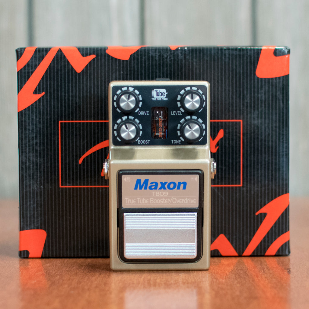 Used Maxon TB09 Tube Overdrive W/ Power Supply & Box