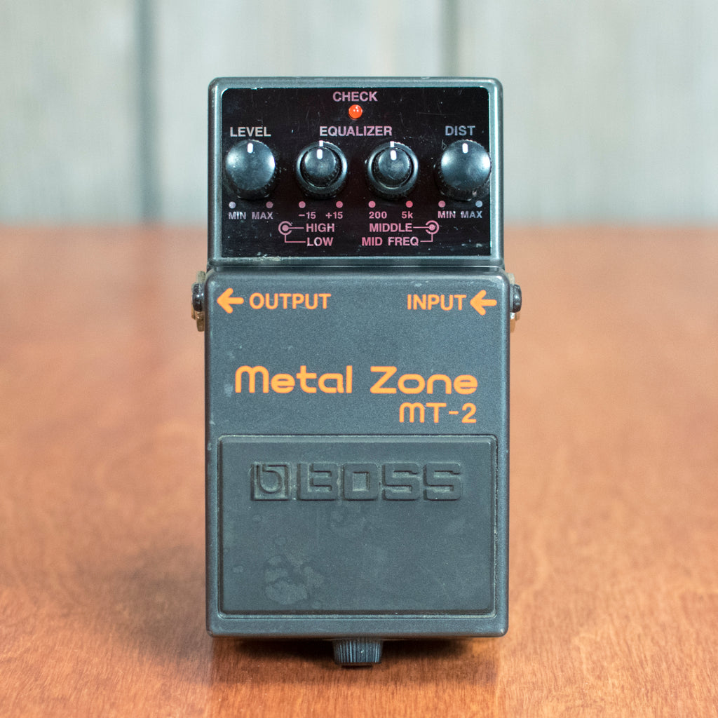 Used Boss Metal Zone MT-2