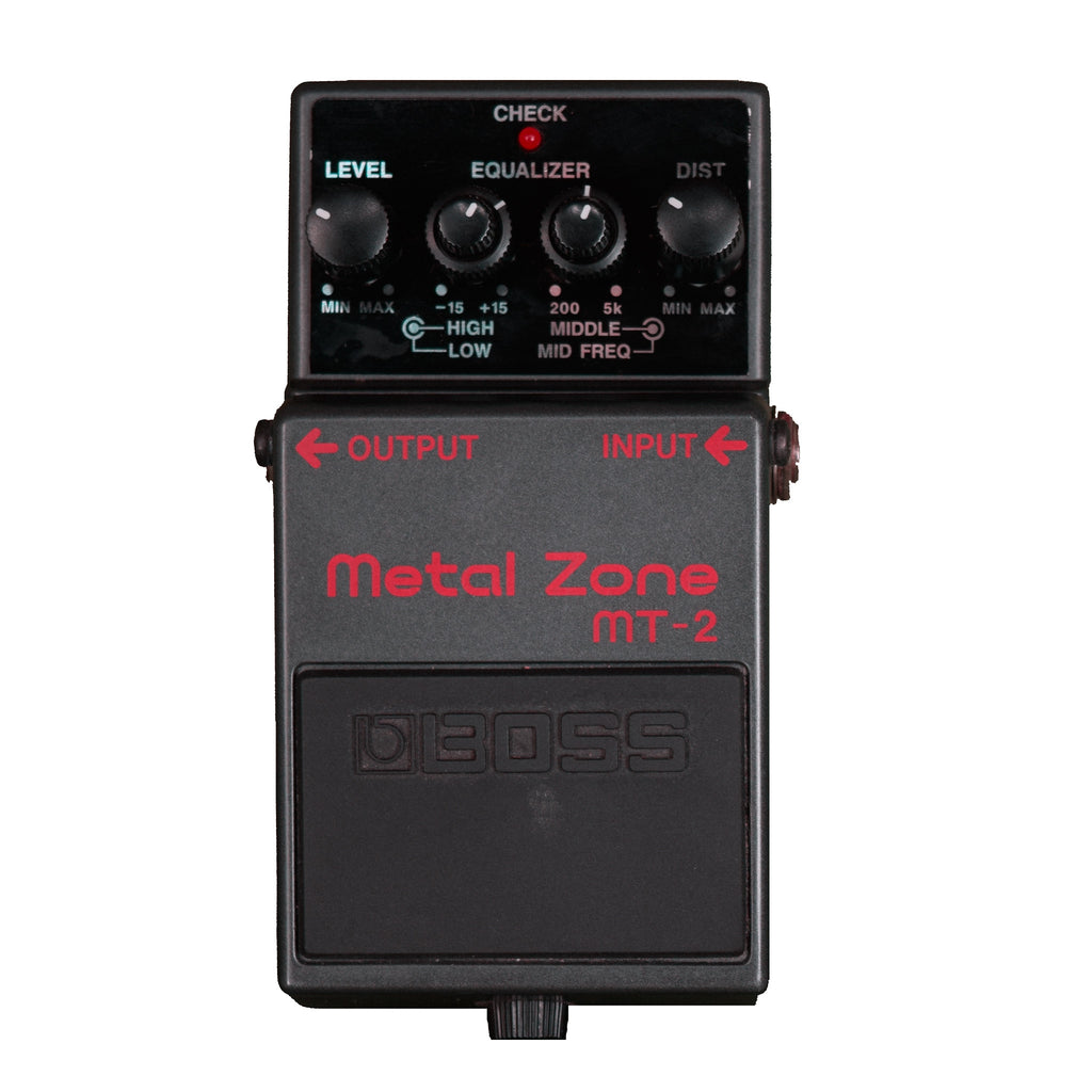 Used Boss MT-2 Metal Zone