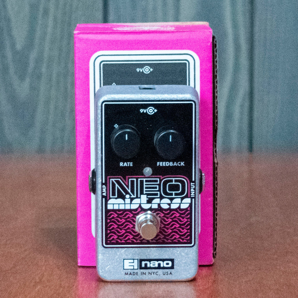 Used EHX Neo Mistress Flanger w/ Box