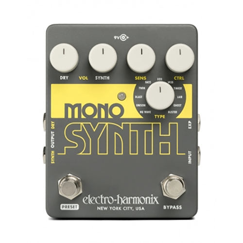 Electro-Harmonix Mono Synth Guitar Synthesizer