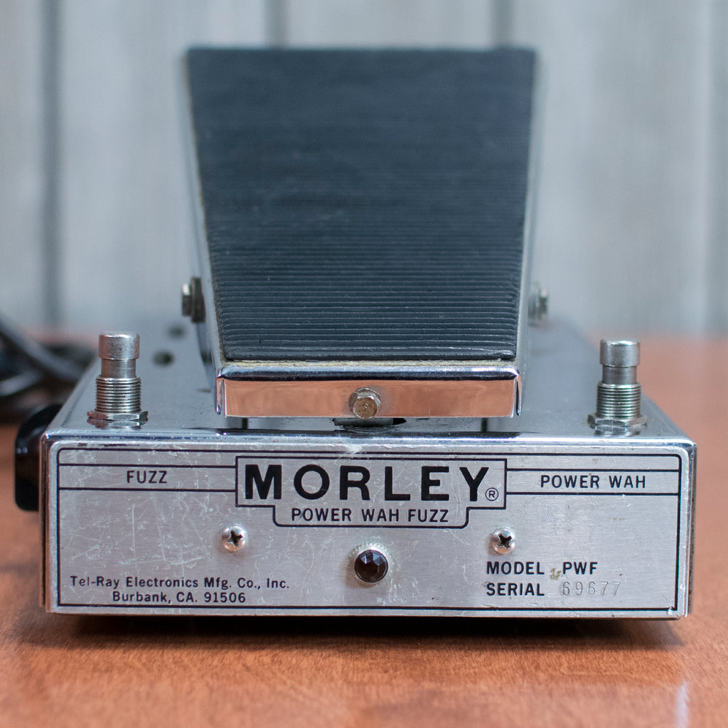 Used 70's Morley Power Wah Fuzz