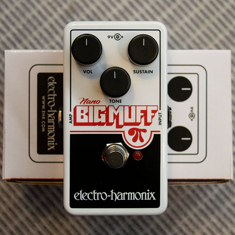 Electro-Harmonix OP-Amp Big Muff Pi Distortion/ Sustainer