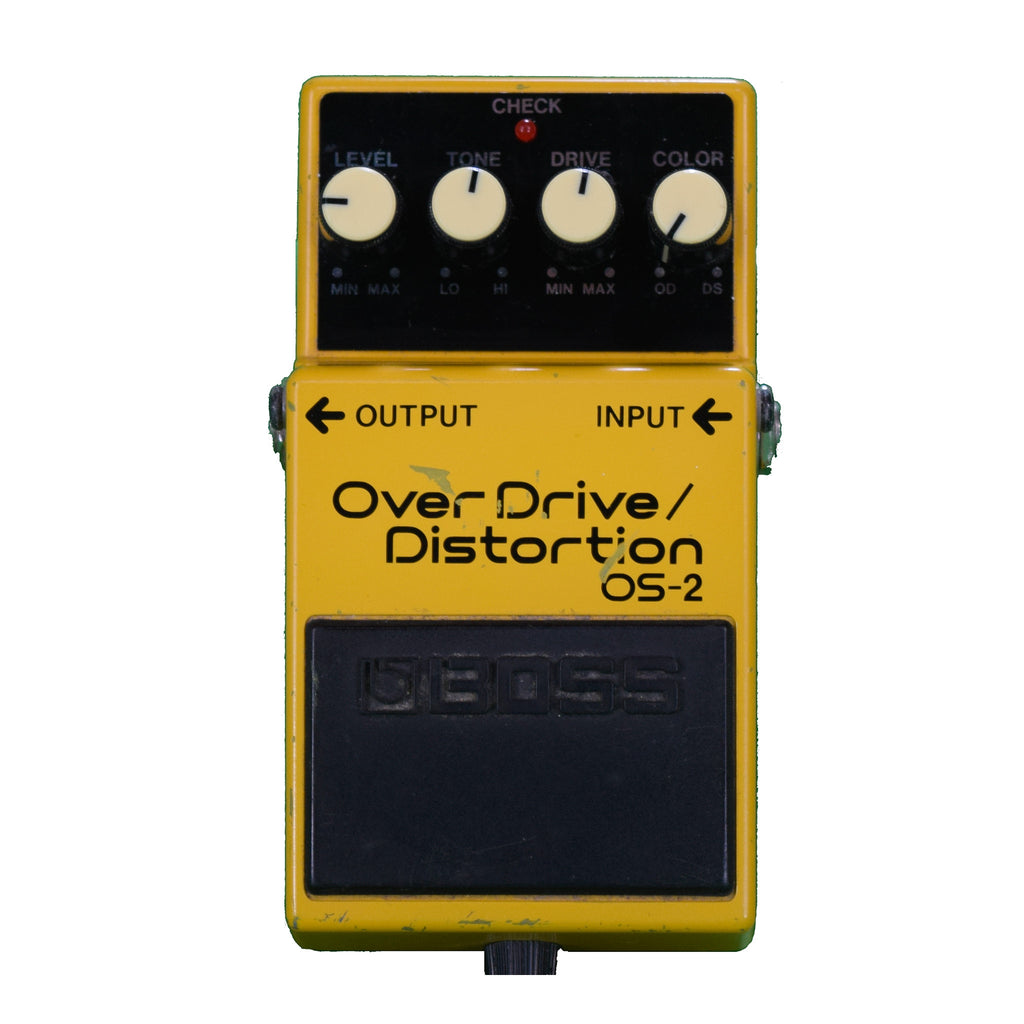 Used Boss OS-2 Overdrive/Distortion