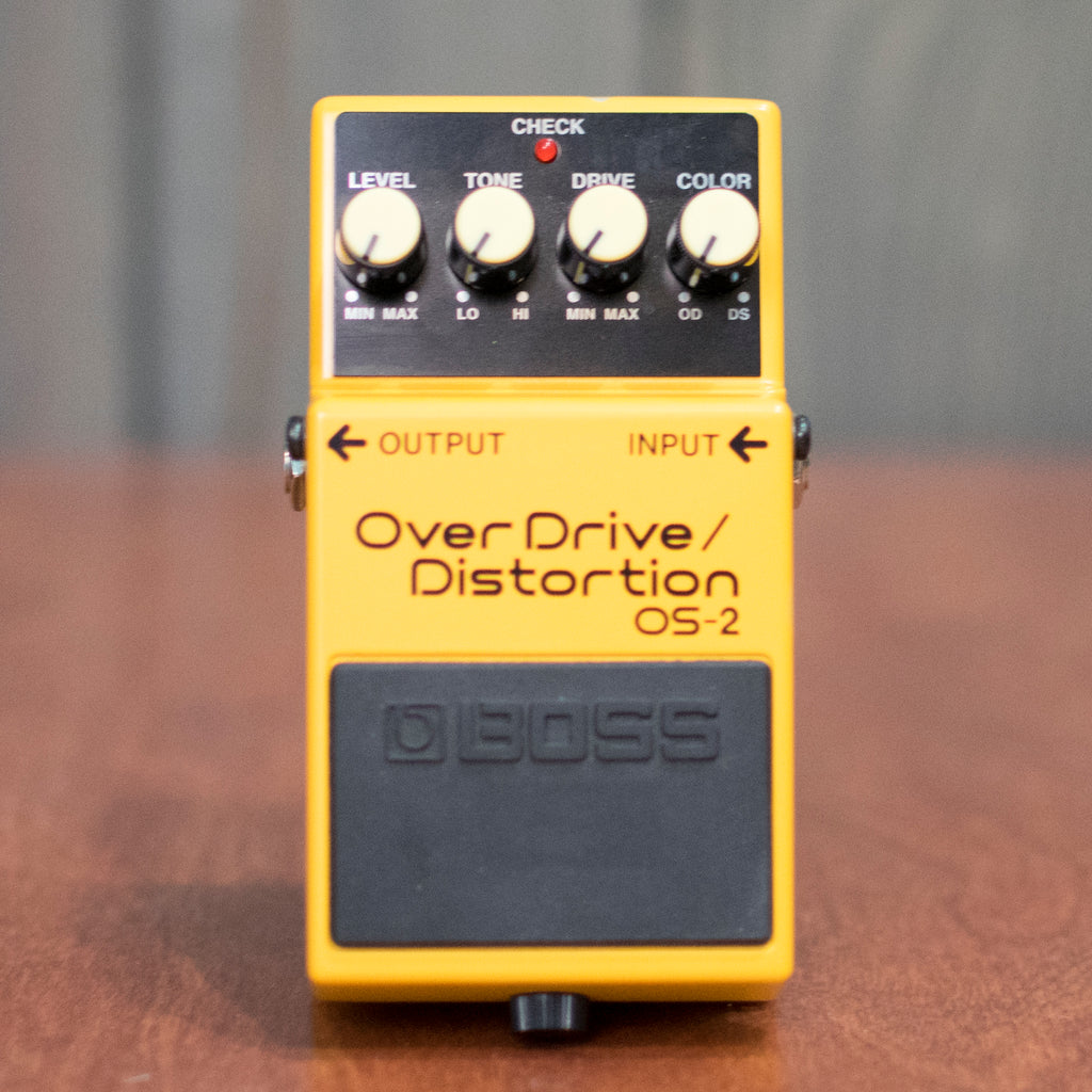 Used Boss OS-2 Overdrive/ Distortion w/ Box