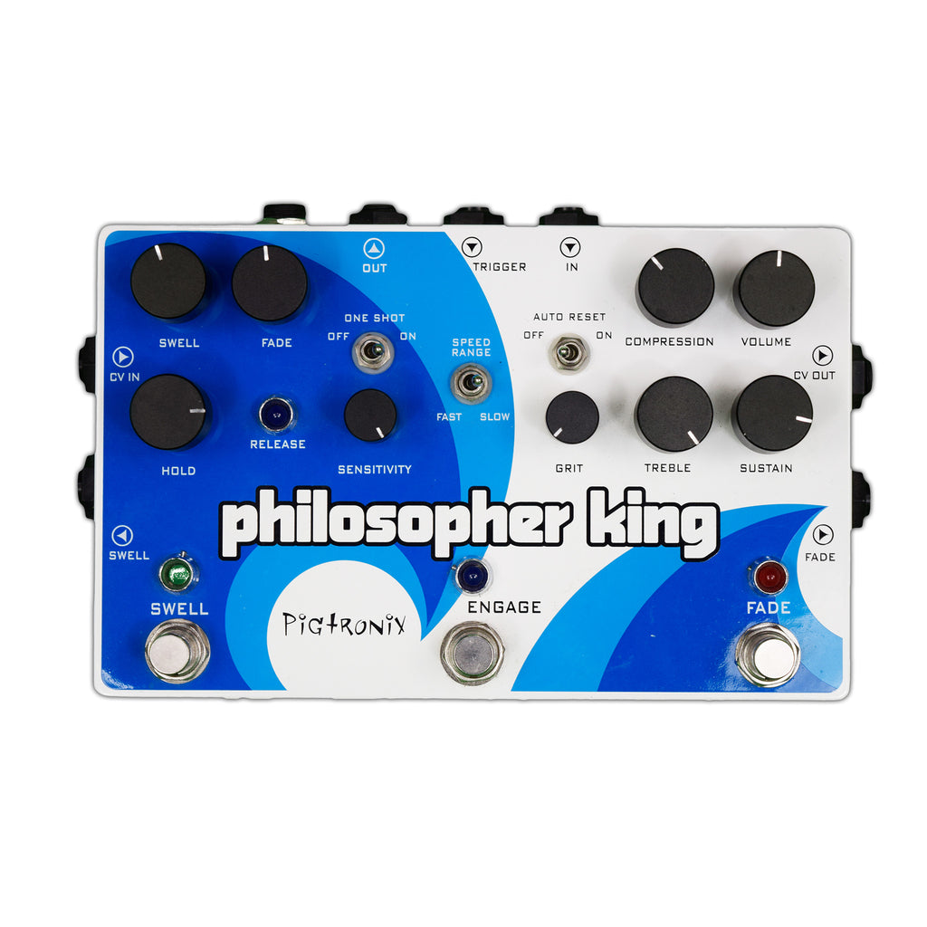 Used Pigtronix Philosopher King w/ Power Supply