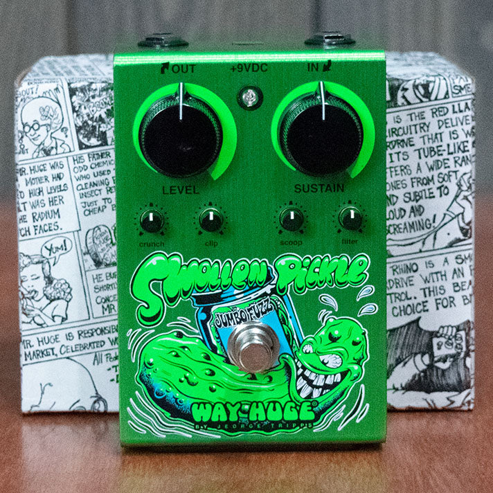 NOS Way Huge Swollen Pickle Jumbo Fuzz Dirty Donny Edition