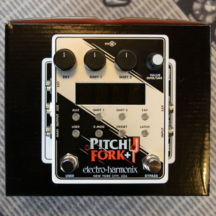 Electro-Harmonix Pitch Fork + Pitch Shifter