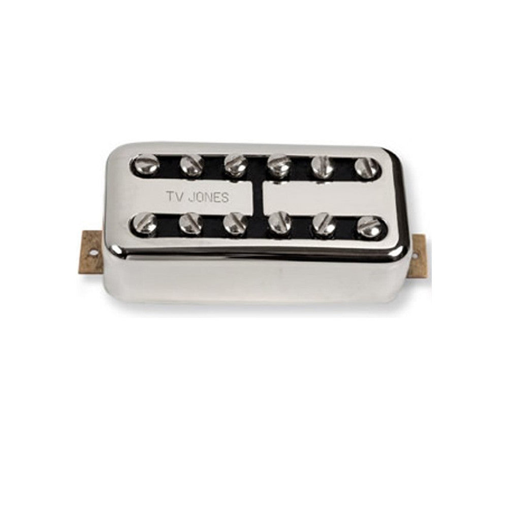 TV Jones Power'Tron Bridge Pickup - Chrome, Universal Mount
