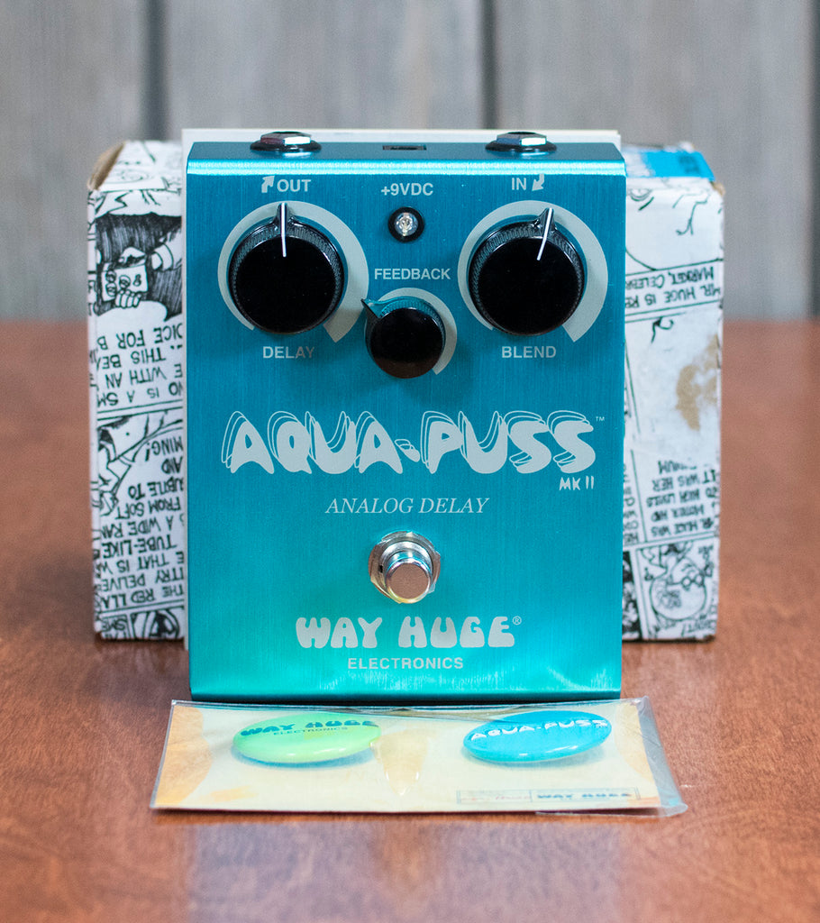 Used Way Huge Aqua-Puss Delay w/ Box