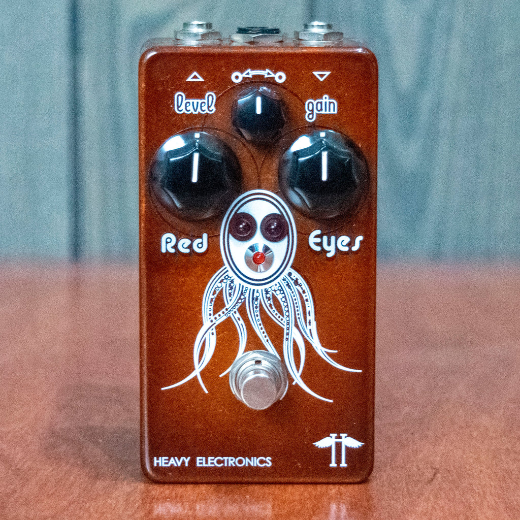 Used Heavy Electronics Red Eyes Overdrive