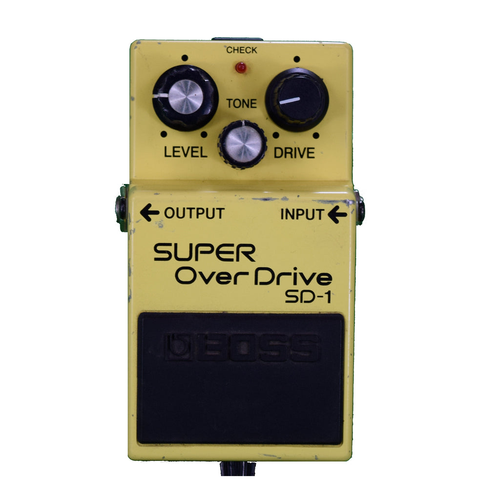 Used Boss SD-1 Super Overdrive