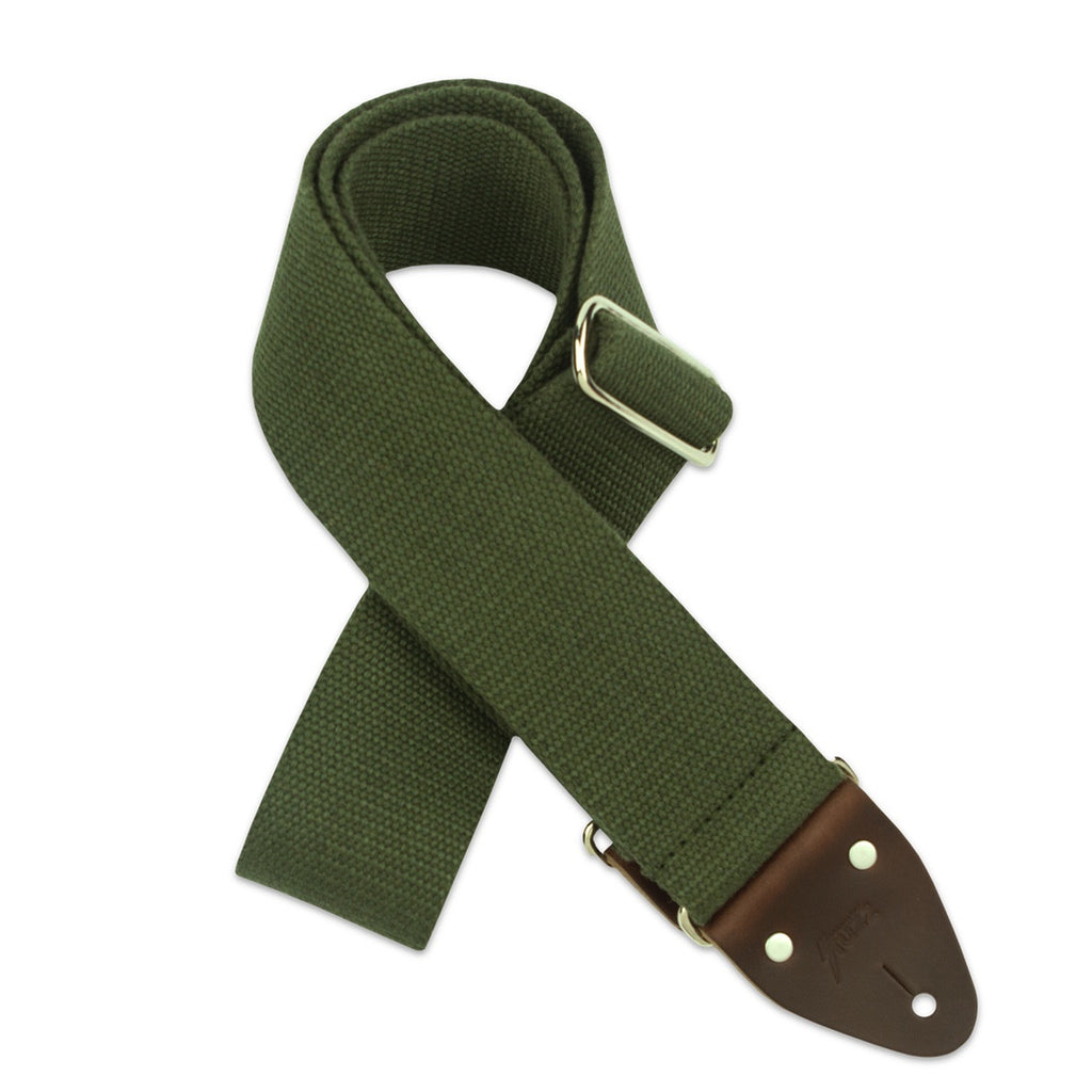 Original Fuzz Solid Series Guitar Strap in Green