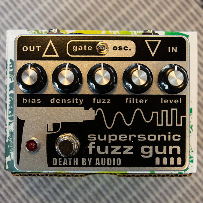 Death By Audio Supersonic Fuzz Gun