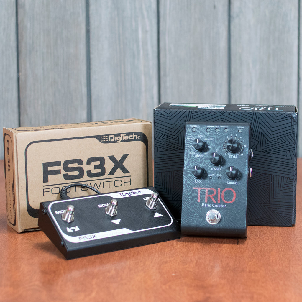 Used DigiTech Trio w/ FS3X Footswitch